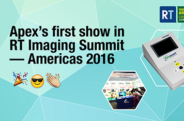 Apex's first show in RT Imaging Summit —— Americas 2016