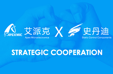 Announcement of Strategic Partnership Between Static Control Components and Apex Microelectronics