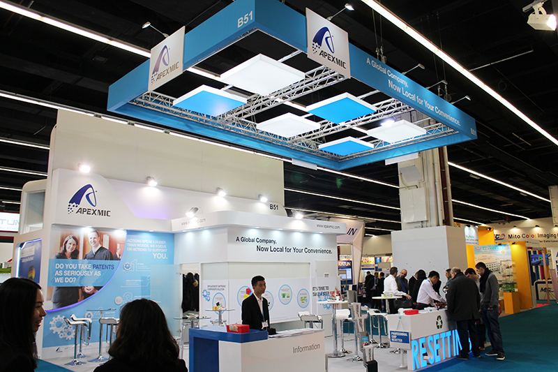 Apex successful attended two expositions in Europe
